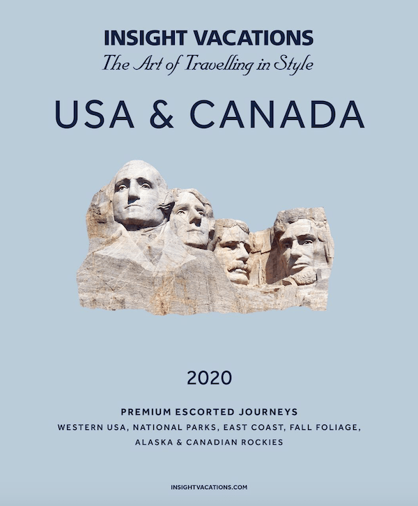 Insight Vacations Brochure - USA and Canada 2020