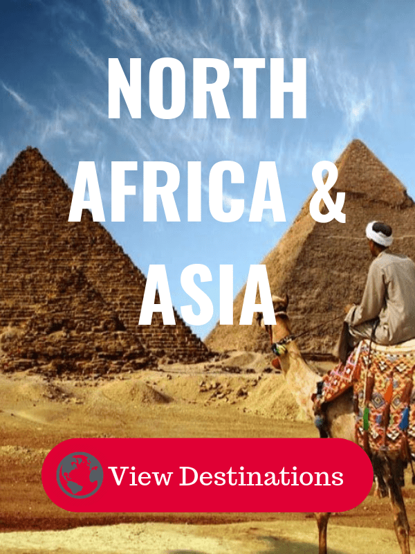 North Africa and Asia Destinations - Insight Vacations