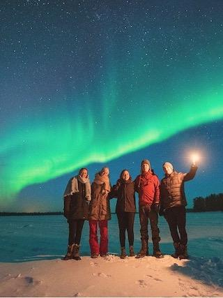 Collette Tours - Northern Lights of Finland