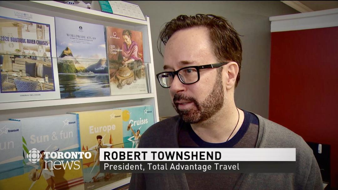 Cruises cancelled coronavirus - Robert Townshend - Total Advantage Travel