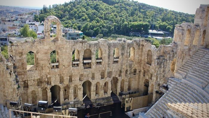 Greece Travel - Athens - Odeon of Herodes Atticus