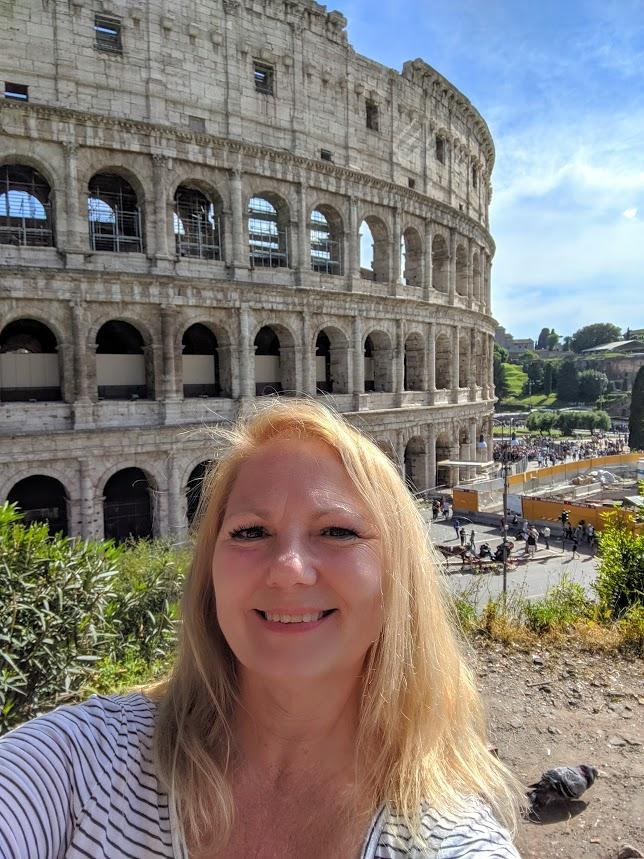 Travel Europe Like A Local - Rome Coliseum - Susan
