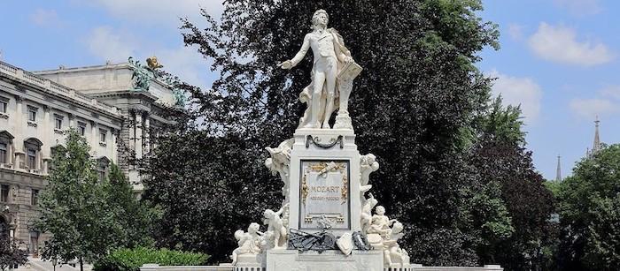 Wolfgang Amadeus Mozart Monument - Vienna Mozart Tour