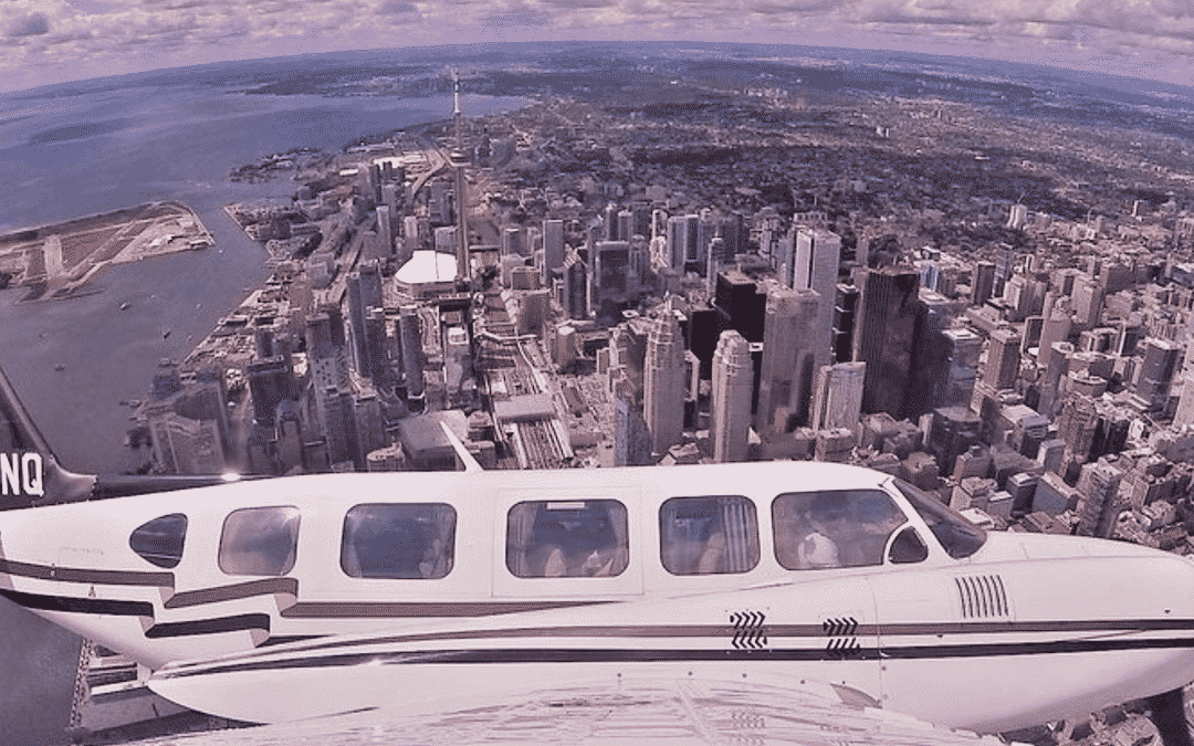Exhilarating 120km Aerial Tour of Toronto with IflyTOTO