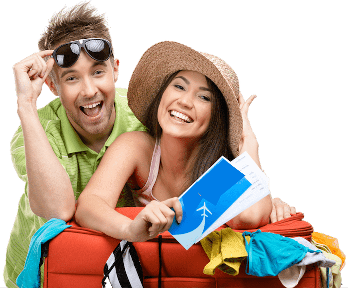 Happy Couple Dream Vacation - Book Now & Save