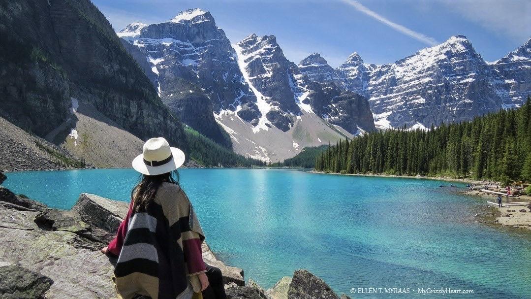 Canadian Rocky Mountains - Moraine Lake Alberta - Ellen T Myraas - Total Advantage Travel