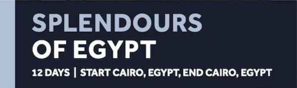 Splendours of Egypt Tour - Insight