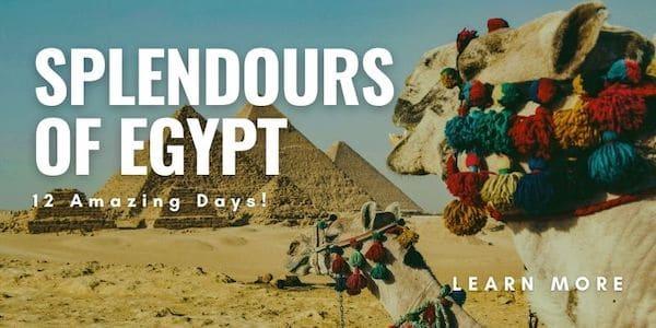 Splendours of Egypt Tour - Insight - Total Advantage Travel