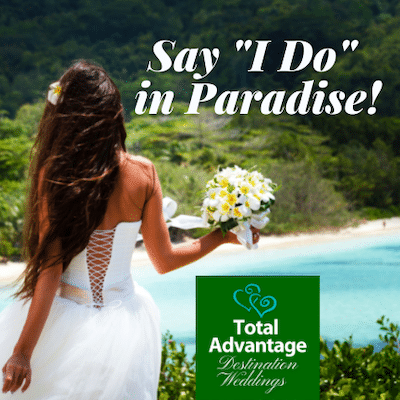 Total Advantage destination Weddings